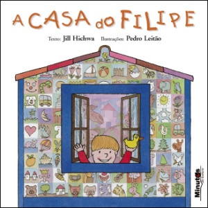 Capa do livro «A Casa do Filipe»