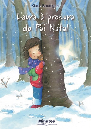 Capa do livro «Laura à procura do Pai Natal»