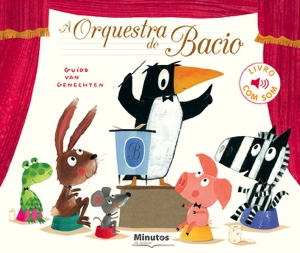 Capa do livro «A Orquestra do Bacio»